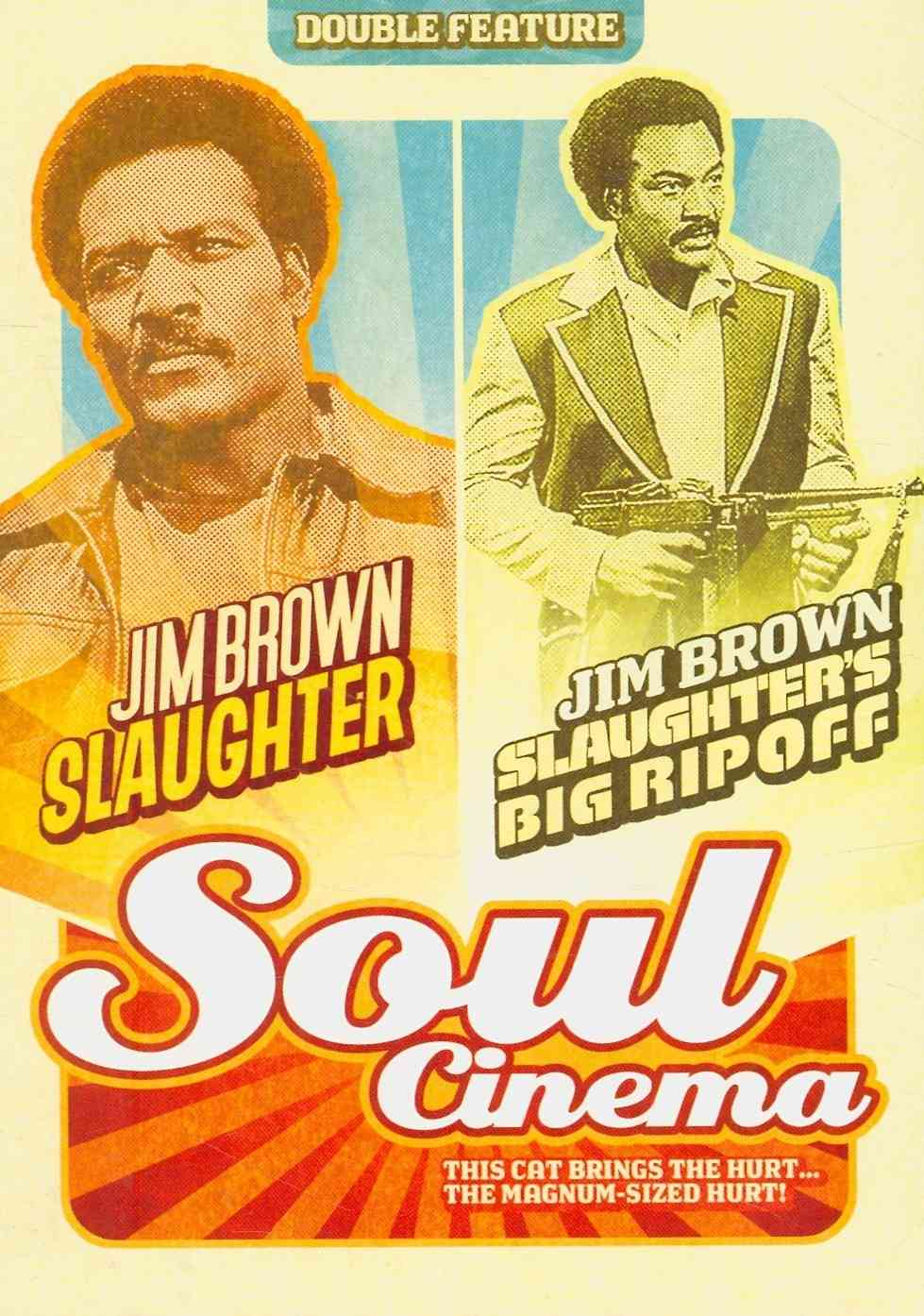 SLAUGHTER/SLAUGHTER'S BIG RIPOFF BY BROWN,JIM (DVD)