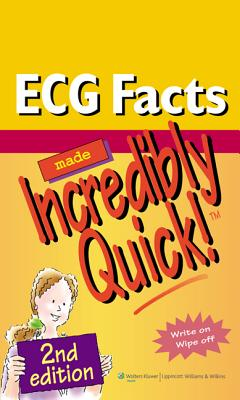 ECG Facts Made Incredibly Quick! By Lippincott Williams & Wilkins (COR)